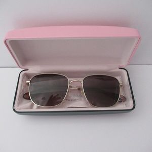 Kate Spade Kiyah Polarized Square Sunglasses NEW